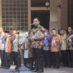 Ribuan Pegawai Pemkot Tangerang Kompak Pakai Batik
