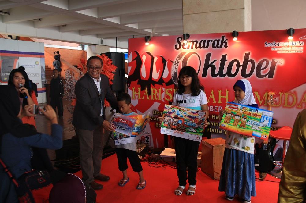 Begini Peringatan Hari Sumpah Pemuda Di Bandara Soekarno Hatta