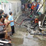 Diduga Regulator Gas Bocor, Satu Rumah Dilalap si Jago Merah