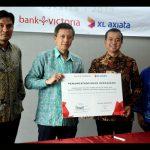 XL Axiata – Bank Victoria Kerjasama Mudahkan Pelanggan dengan IBMB