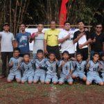 Warga Cisauk Gelar Turnamen Sepak Bola U-12