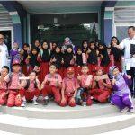 Edukasi Soal Air Bersih, Siswa SDN Poris Gaga 2 Kunjungi PDAM Tirta Benteng