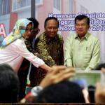 Airin Dampingi Jusuf Kalla Resmikan IGMP