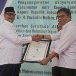Gubernur Banten Raih Anugerah Widyaiswara Utama Kehormatan dari LAN