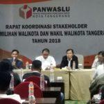 Ingatkan Netralitas ASN di Pilkada Kota Tangerang, Panwaslu Gelar Rakor