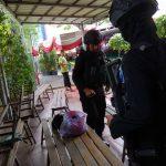 Personel Polres Metro Tangerang Kota Sisir Gereja Santa Maria Tangerang
