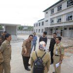 Arief Sidak Pembangunan Puskesmas Rawat Inap