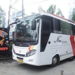 Shuttle Bus Bandara Kualanamu Pakai Tata Bus