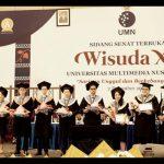 Wisuda XII UMN Luluskan 689, Tujuh Mahasiswa Wisudawan Terbaik