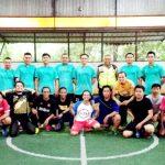 Futsal Persahabatan Satlantas Polres VS Pokja Wartawan Tangsel