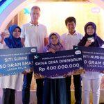 Pelajar Cirebon Menang Rp 400 jt Hadiah XL