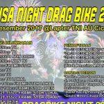 Bodisa Bakal Gelar Drag Bike Malam Hari