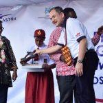 Menteri Yohana Resmikan Festival Kampung Berseri Astra Enggros