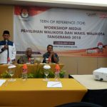 Jalin Sinergitas, KPU Gelar Workshop Media