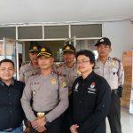 50 Personel dari Polsek Benteng Berjaga di KPU Kota Tangerang