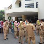 Gempa 6,4 SR, Pegawai Pemkot Tangerang Berhamburan Keluar Gedung