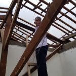 Rumah Ambruk di Kecamatan Pinang