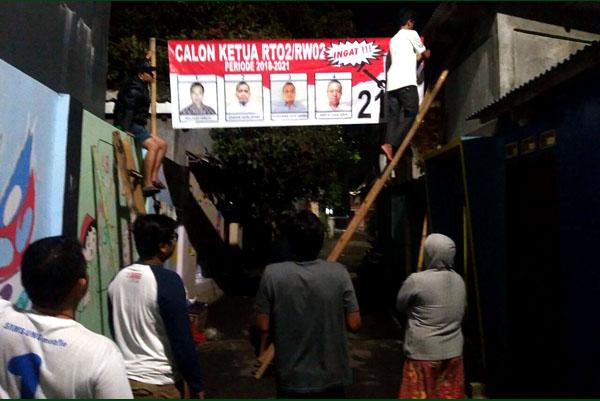 Semaraknya Pemilihan Ketua Rtrw Di Serpong Palapa News