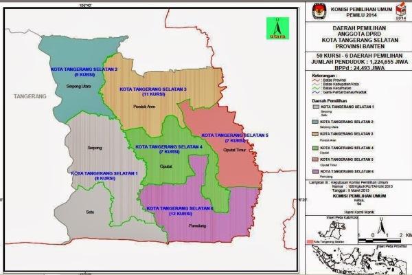 KPU Tangsel Usulkan 6 Dapil Pemilu 2019 ke Pusat | Palapa News