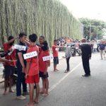 Polres Tangsel Rekonstruksi Pembunuhan Jukir di Bintaro