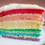 Resep Rainbow Cake Kukus Rumahan