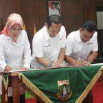 Teken MoU Tiga Provinsi, PMI Banten Diapresiasi