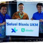 XL Axiata & Sleekr Bantu Solusi Pengembangan Bisnis UKM