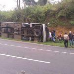 Data Sementara Korban Kecelakaan Rombongan Bus di Subang