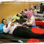 Aksi Dondar HSPB Kumpulkan 35 Kantong Darah