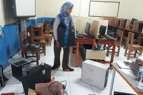 Pencurian 34 Laptop MTs, Dindik Tangsel: Mudah-mudahan UNBK Lancar