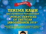 Iklan Penghargaan DPU Tangsel