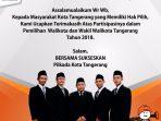 KPU Kota Tangerang Iklan