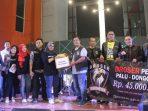 Komunitas Harley Davidson Sumbang Rp66,5 juta untuk Palu