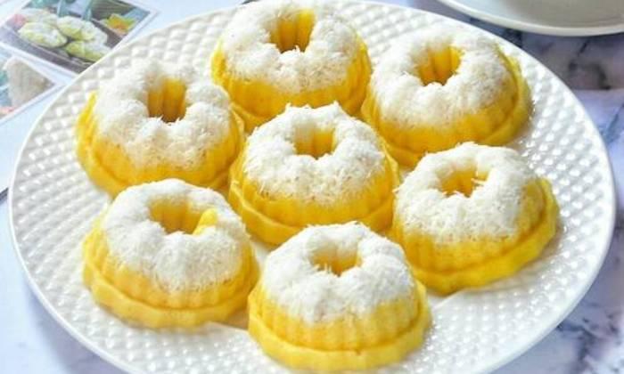 Resep Kue Putu Ayu Labu Kuning Palapa News