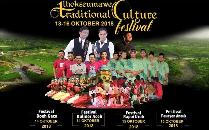 Lhokseumawe Traditional Culture Festival Digelar 13 Oktober