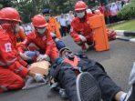 Simulasi Gempa Bumi di Gedung Puspemkot Tangerang 1