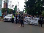 Demo Mahasiswa di Balaikota Tangsel