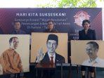 Lelang Lukisan Wajah Jokowi