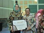 Walikota Tangsel Penghargaan Natamukti
