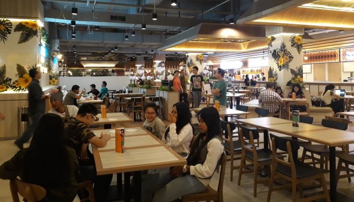 Mall Alam Sutera Punya Pusat Kuliner Baru Palapa News