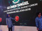 Peluncuran Catalog Journey UMKM Tangsel 2018