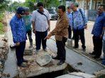 Walikota Tangerang Sidak Proyek Drainase