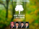 DPRD Kota Tangerang 1 Juta Pohon