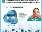 HPSN 2019-Disperkimta Tangsel