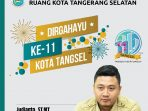 HUT TANGSEL ke 11_Disbang