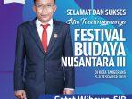 FESTIVAL BUDAYAI-Ketua DPRD Kota TNG