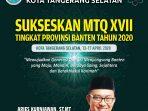 MTQ XVII TANGSEL_DPU
