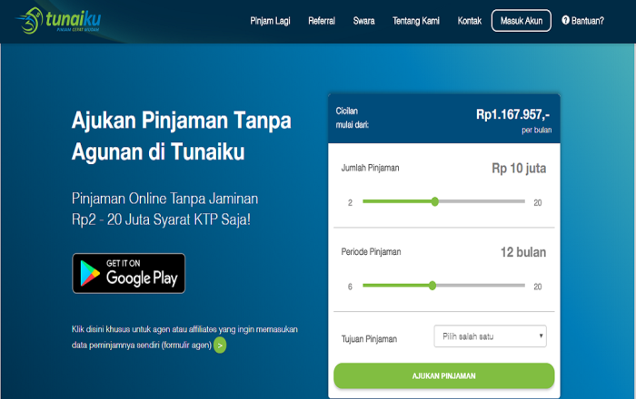 Ini 5 Pilihan Pinjaman Online Terpercaya Di Indonesia Palapa News