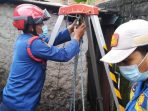 Evakuasi Mayat Damkar Tangsel