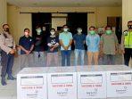 Polda Banten Kawal Distribusi Vaksin Sinovac